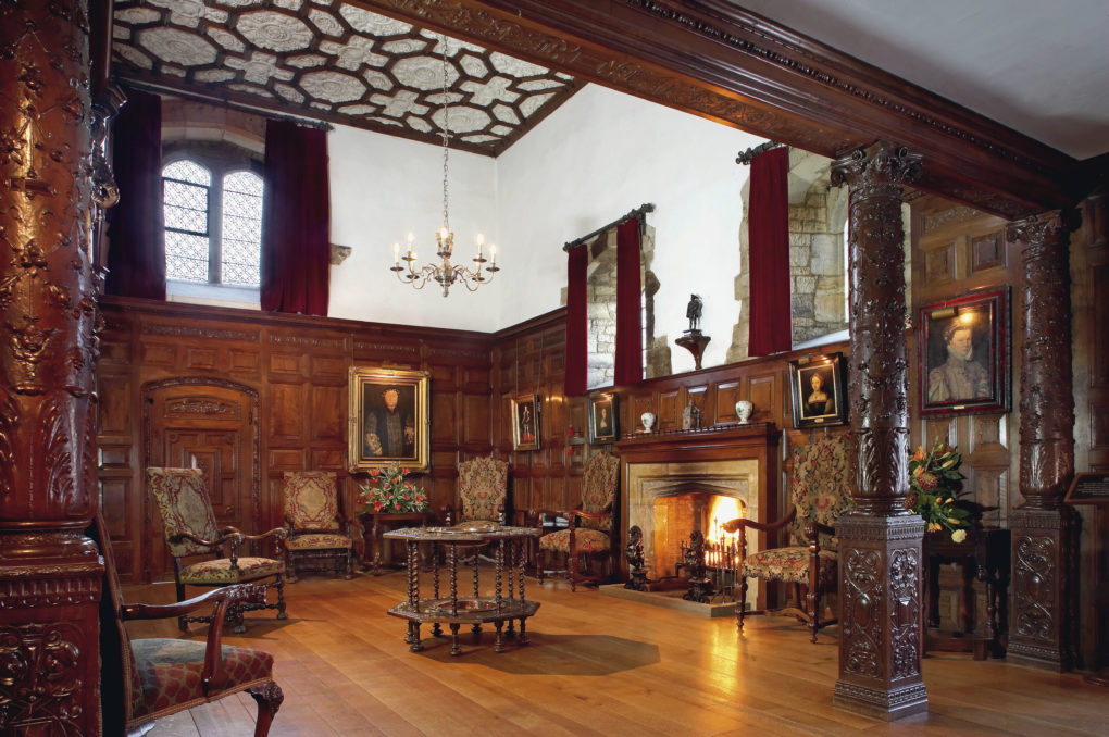 The Inner Hall of the Castle used to the kitchen