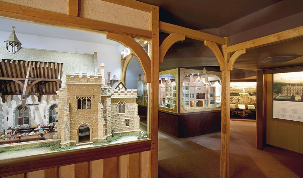 Hever Castle Attractions Miniature House Exhibition Gallery