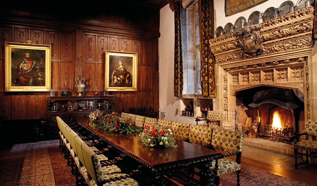 Hever Castle Rooms & Exhibitions Dining Room
