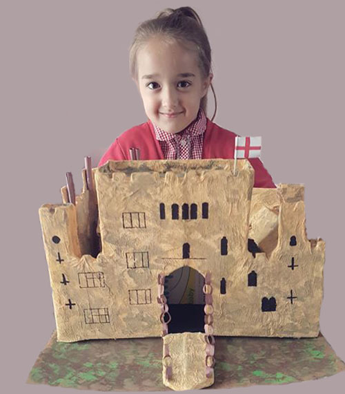 Homework - build a castle